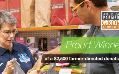 Local Farmer Directs America's Farmers Grow Communities Donation to Envision Greater Fond du Lac