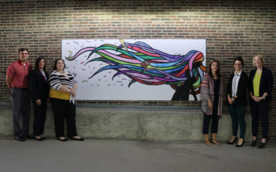 Inclusion Mural Installed in Downtown FDL Parking Ramp