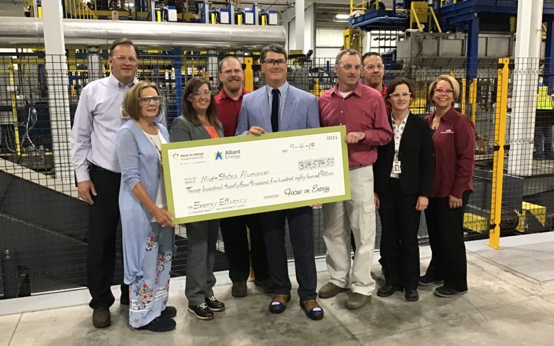 Mid-States Aluminum Saving Millions with Energy Efficiency Upgrades