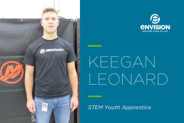 Youth Apprentice of the Month – October 2019: Keegan Leonard