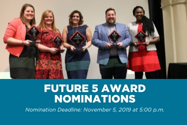 Young Professionals Seek Future 5 Nominations