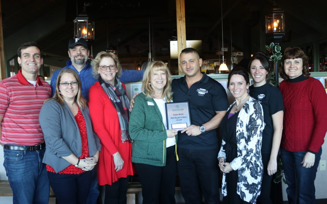 Backyard Grill & Bar Receives People's Choice at Empty Bowls