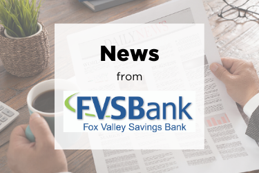 Fox Valley Savings Marks Personnel Changes: Two hires, two promotions, one retirement