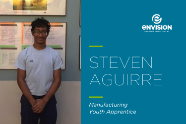 Youth Apprentice of the Month – December 2019: Steven Aguirre
