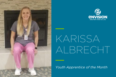 Youth Apprentice of the Month – January 2020: Karissa Albrecht