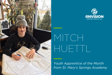 Youth Apprentice of the Month – February 2020: Mitch Huettl