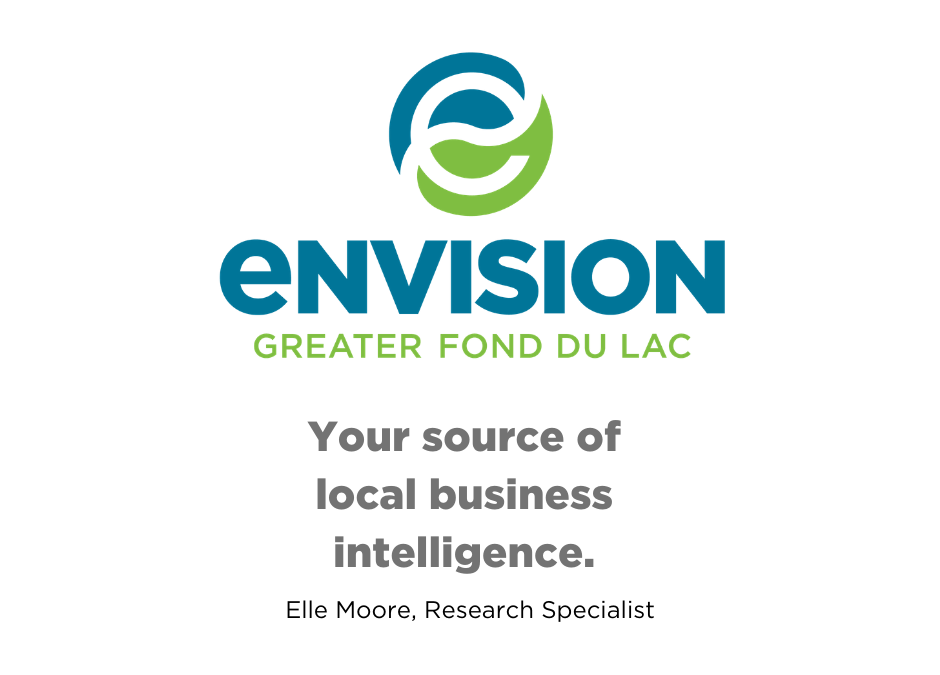 Your source of local business intelligence – Business Intelligence Overview and Offerings from Envision Greater Fond du Lac