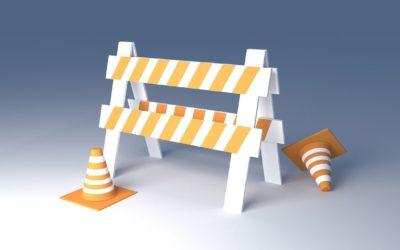 Public Information Message–Johnson Street Lane Restrictions