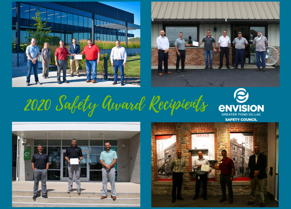 Four Fond du Lac companies commended for workplace safety