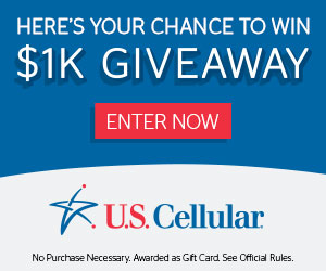 U.S. Cellular's $1K Giveaway Sweepstakes!