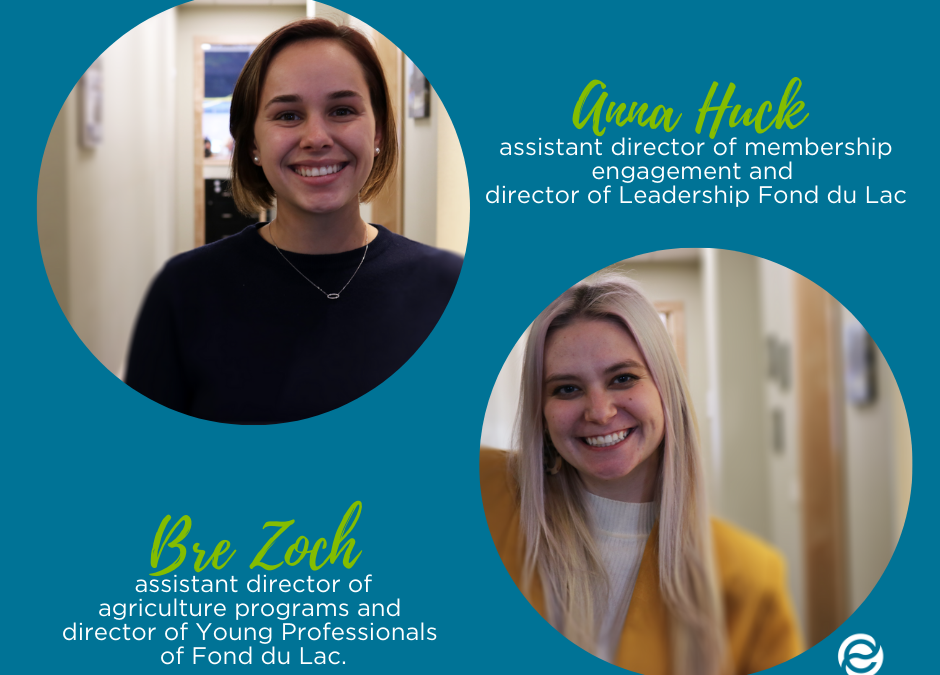 Envision Greater Fond du Lac promotes Huck, appoints Zoch to oversee Young Professionals