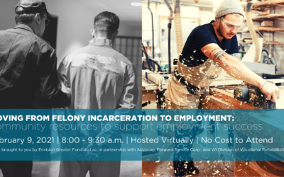 Envision Greater Fond du Lac to host free webinar on employer resources for retaining employees who have formerly been incarcerated