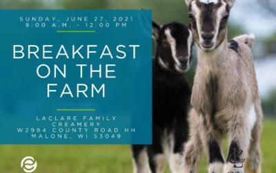 Fond du Lac Area Breakfast on the Farm