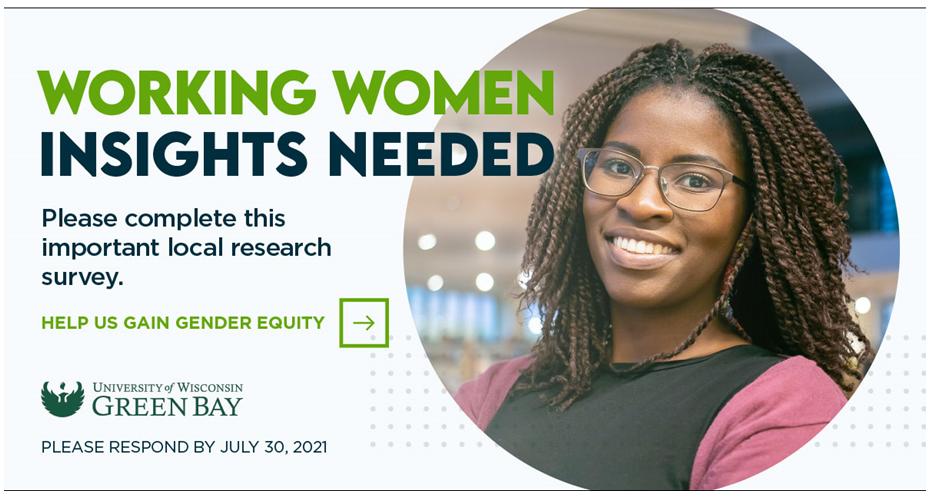 Survey Seeks Responses from Northeast Wisconsin Working Women